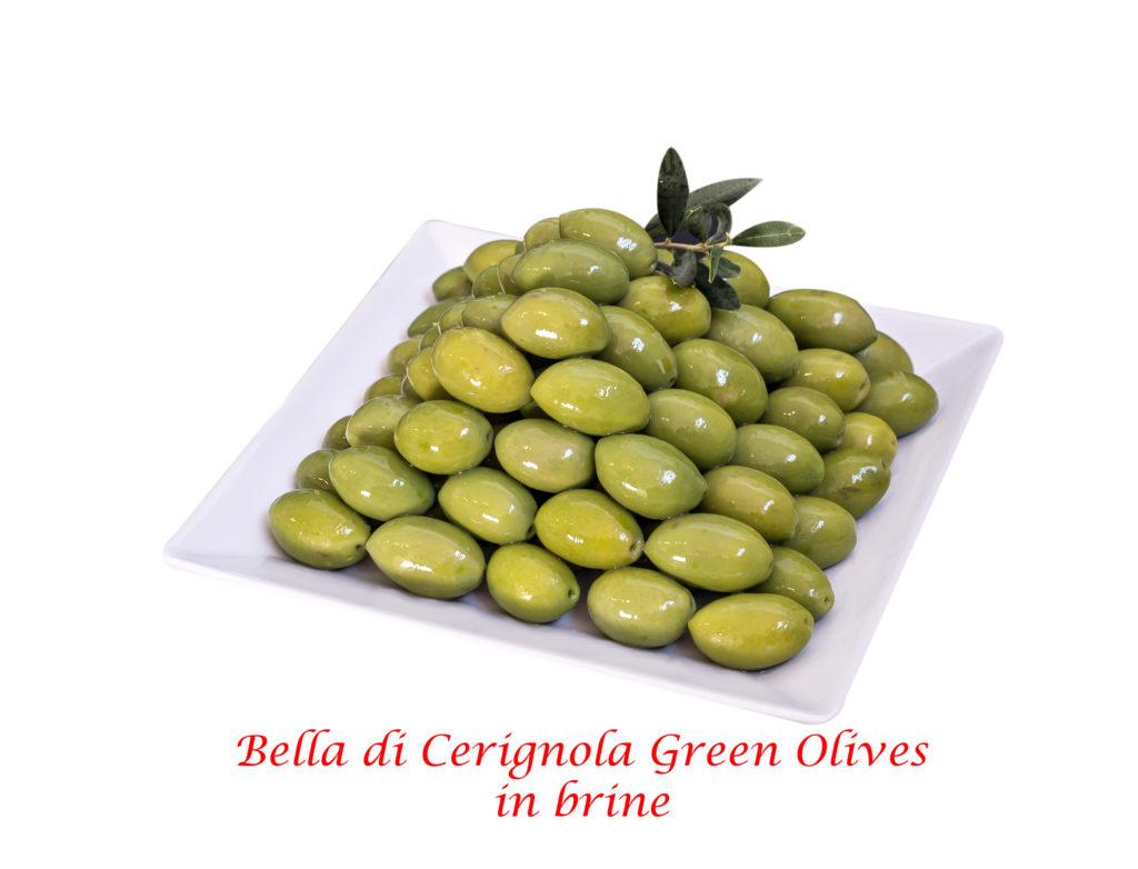 oliva bella di cerignola verde