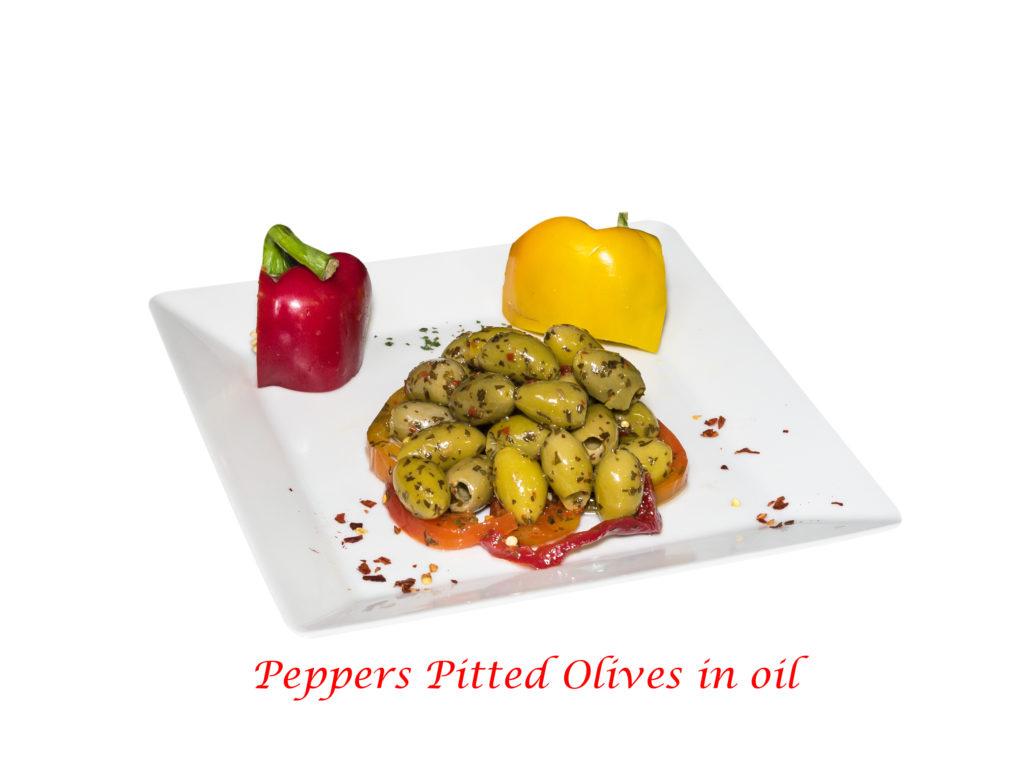 olive denocciolate ai peperoni